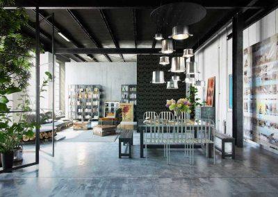 loft ristrutturato a Vicenza