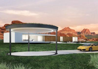 rendering garage