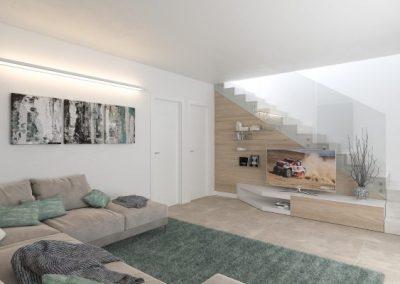 restauro salone appartamento vicenza